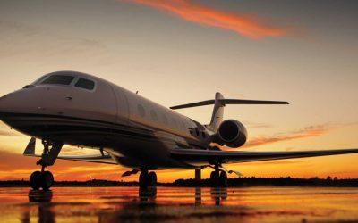 O avião executivo Gulfstream G650