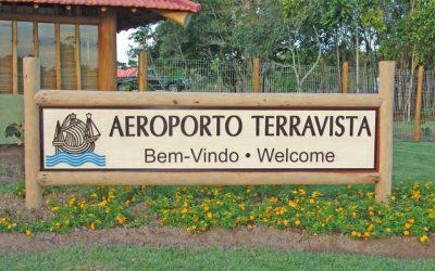 A inauguração do nosso querido Aeroporto Terravista!