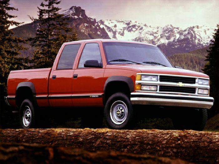 Chevrolet Silverado modelo de 1997